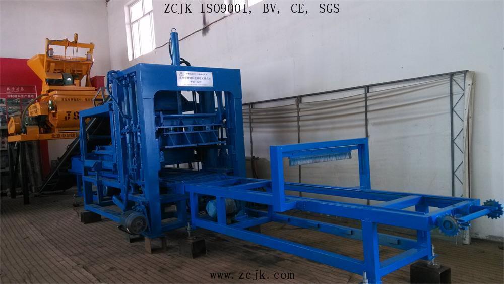 ZCJK QTY6-15 brick making machine