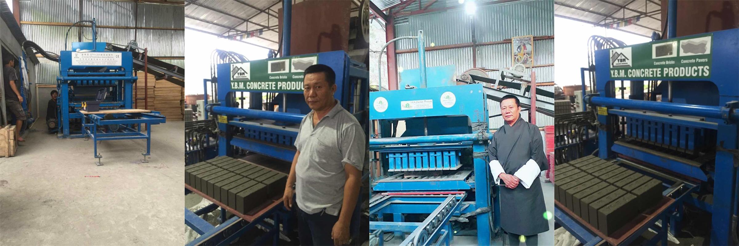 Bloque de ZCJK que hace el agente de la máquina en Bhután
