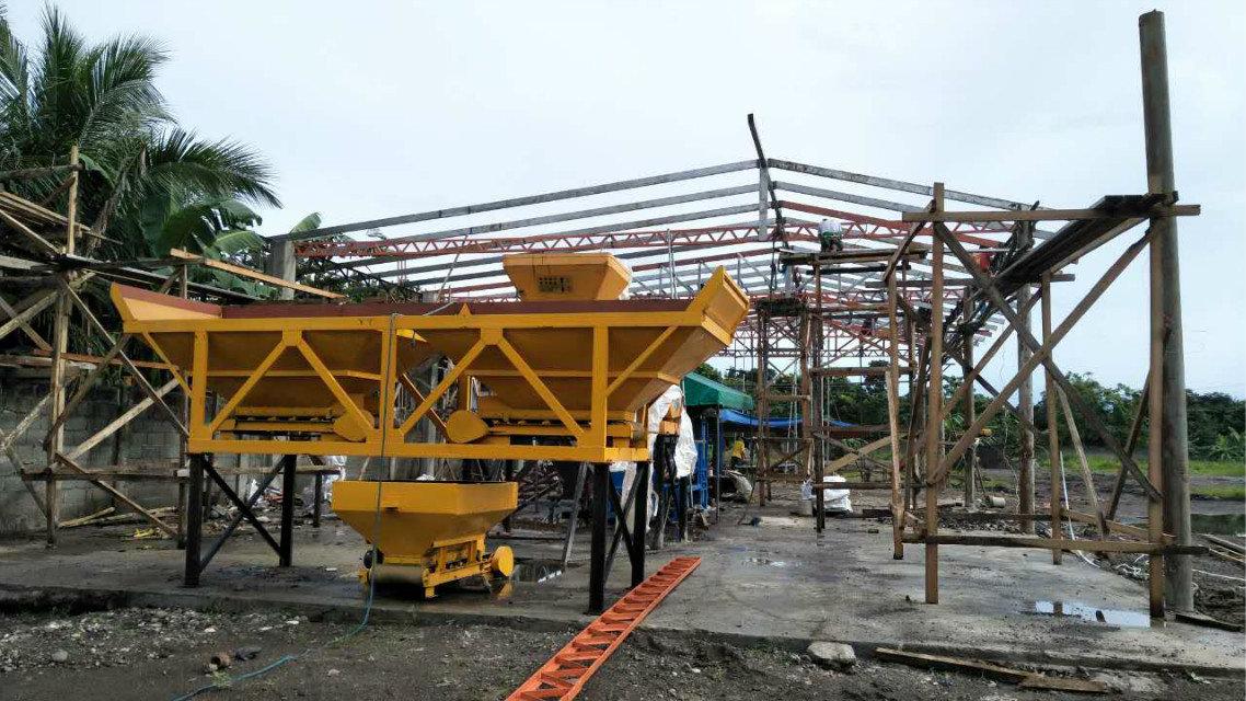 Máquina del bloque QTY4-15 en Filipinas (16)