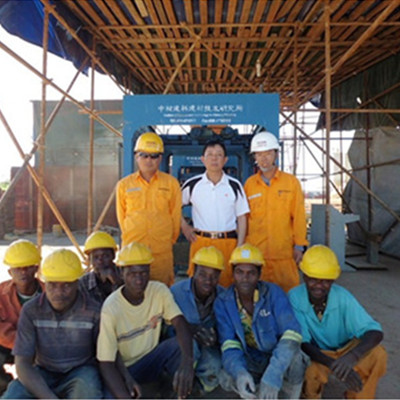 Our engineer in Angola
