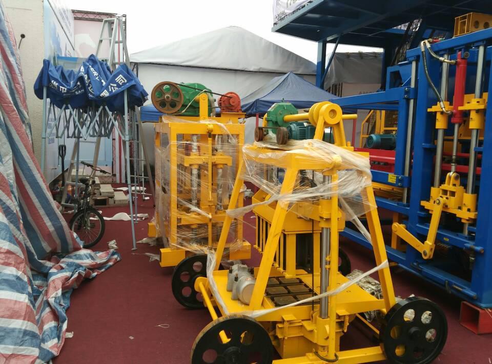Máquina móvil ZCK4-45 Block en la Feria de Cantón