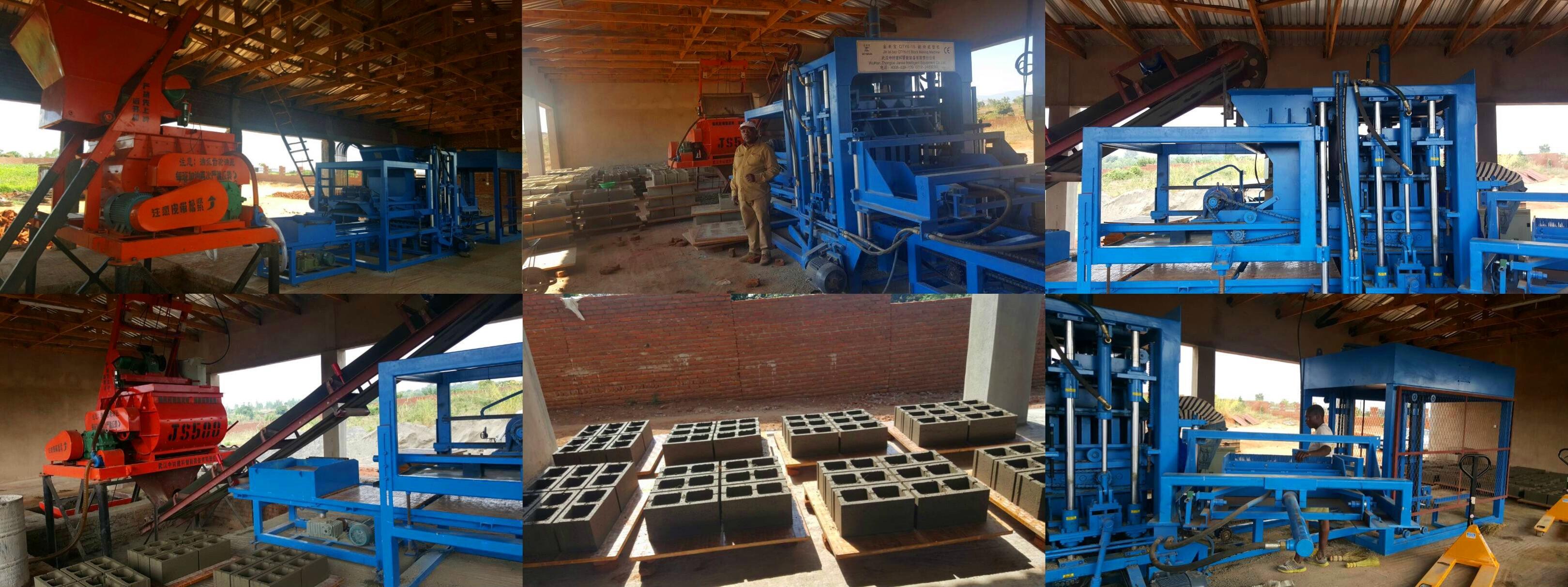 Bloque del agente ZCJK de Malawi que hace la máquina