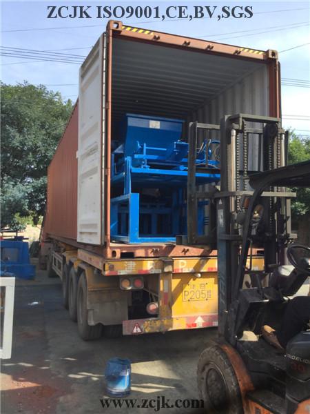 Máquina del bloque de Nigeria ZCJK 4-20A (3)