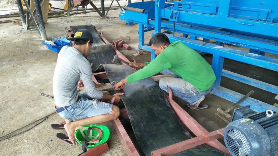 Máquina del bloque QTY4-15 en Filipinas (6)