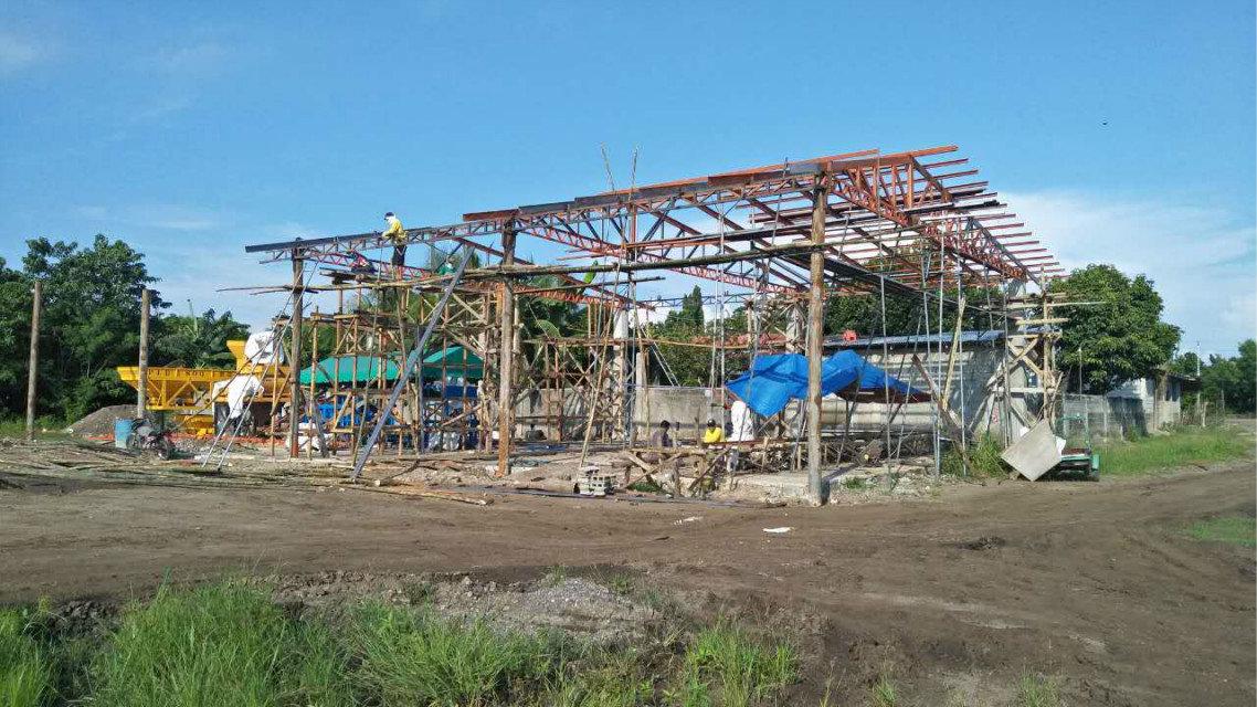 Máquina del bloque QTY4-15 en Filipinas (17)